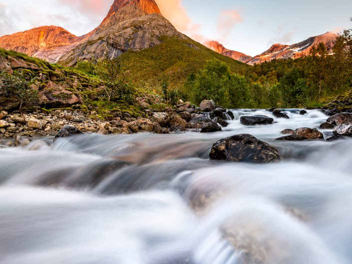 Landschaftsfoto vom Stetind, Norwegen