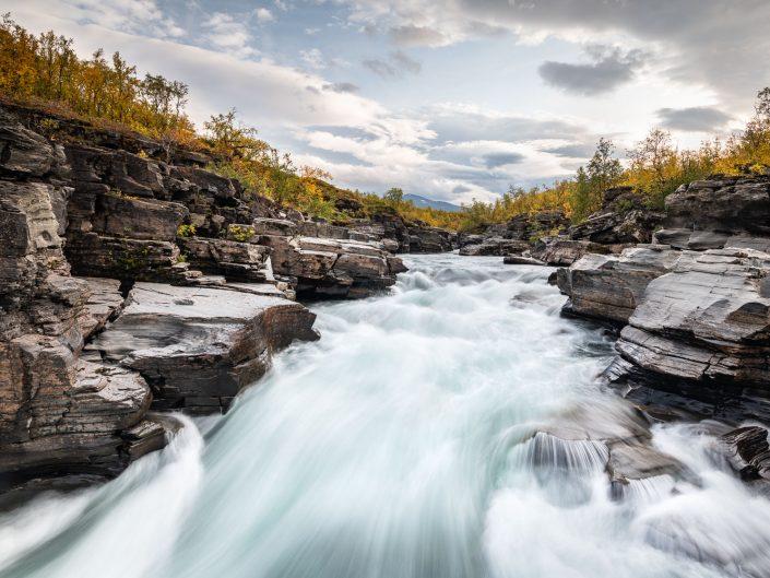 Abisko Canyon, Schweden