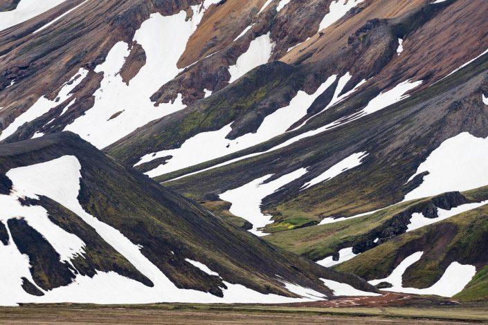 Landmannalaugar, Rhyolit Berge, Island
