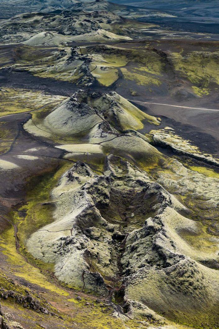 Laki Krater, Hochland, Island