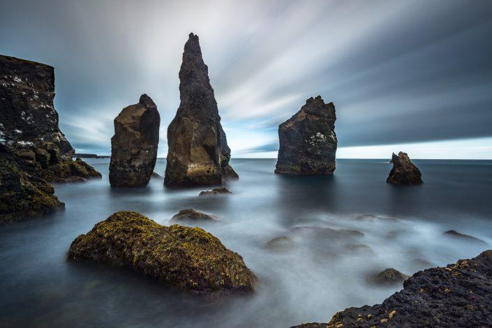 Felsen im Meer, Südisland