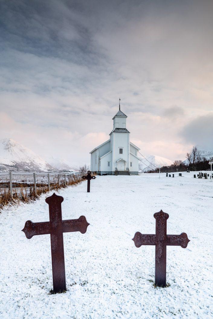Kirche von Gimsoy, Lofoten