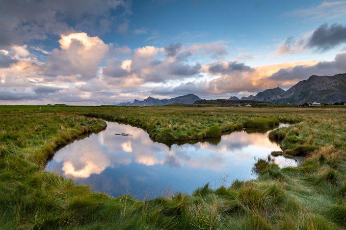 Fredvang, Landschaft, Lofoten, Norwegen