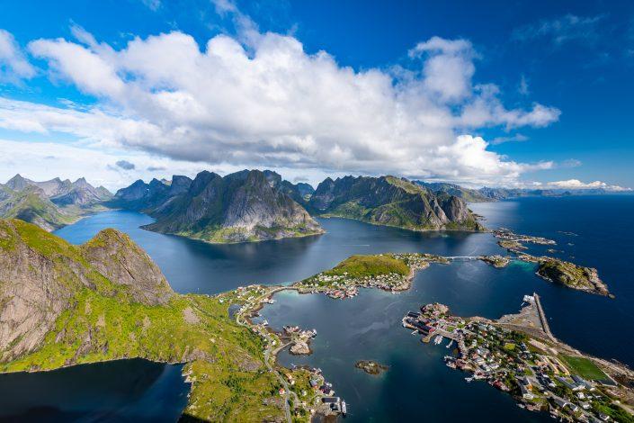 Reinebringen, Landschaftsfotografie, Lofoten, Norwegen