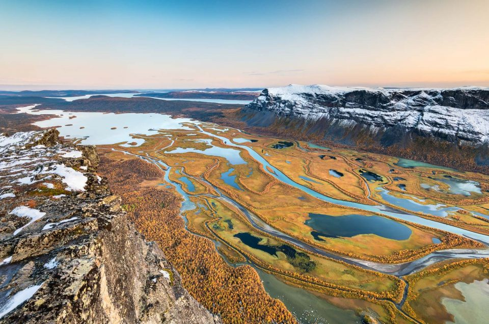 Sarek Nationalpark - Wildnis in bunten Herbstfarben