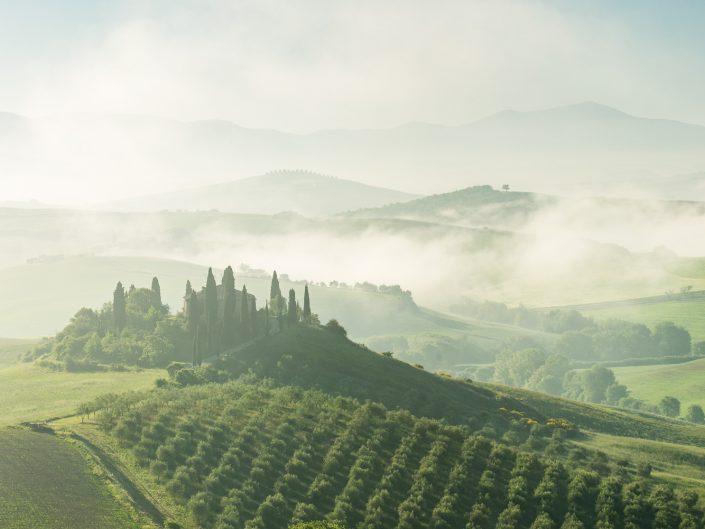 Podere Belvedere, Italien