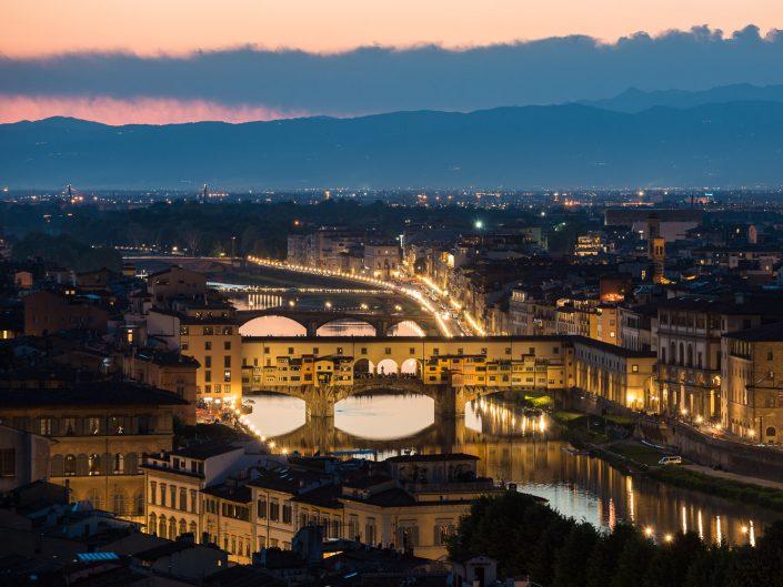 Brücke Ponte Vecchio, Florenz