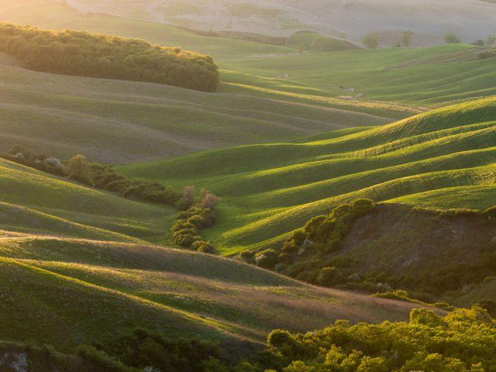 Hügelige Landschaft, Toskana