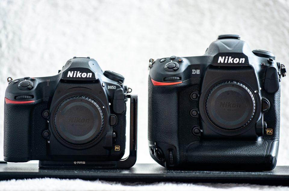 Vergleich Nikon D5 vs D850