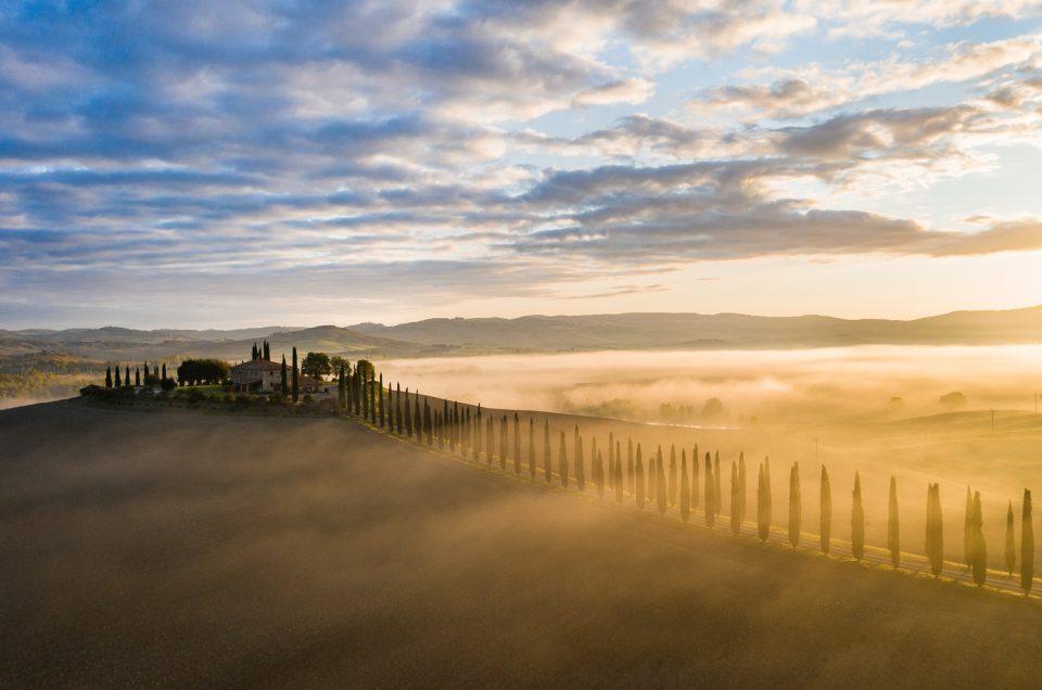 Landschaftsfotografie in der herbstlichen Toskana