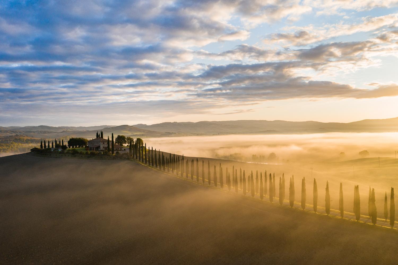 Landschaftsfotografie in der Toskana