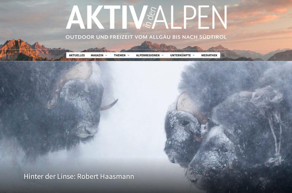 Interview für Aktiv in den Alpen